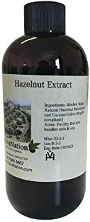 OliveNation Pure Hazelnut Extract - 32 oz - Kosher labeled, Gluten free - Perfect for cakes, cookies, frostings and icings...