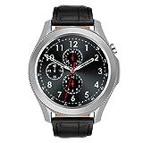 HQPCAHL Smartwatch, Fitness Armband Fitness Tracker Voller Touch Screen Smart Watch IP67 Wasserdicht Fitness Uhr Mit Pulsuhren Schrittzähler Damen Herren Armbanduhr Sportuhr Für Ios Android,Silber