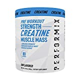 Performix Micronized Creatine Monohydrate - 80 Servings (400g) - for Amplified Strength, Increase Muscle Mass, Reduce Fatigue - Pre-Workout to Power Your Muscle Energy Improving Workout - Unflavored