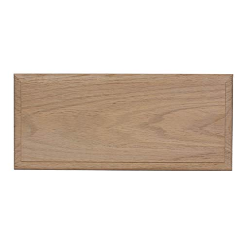 Unfinished Oak Square Flat Panel Cabinet Drawer Front by GlideRite, 5.75H x 34W