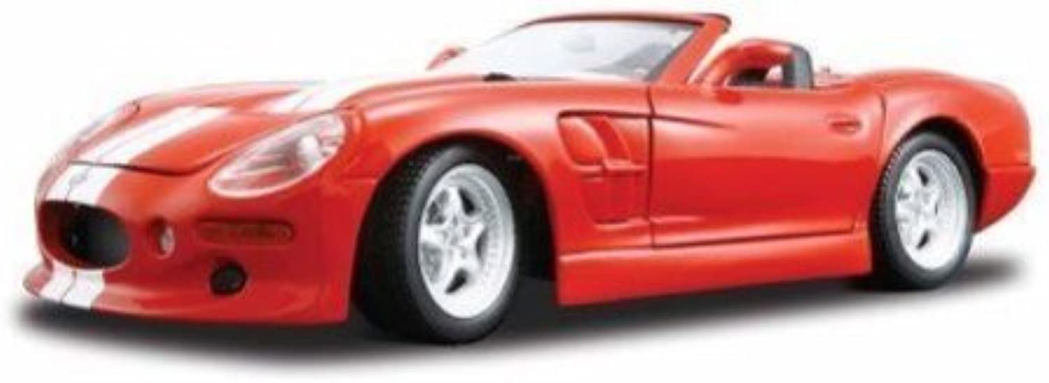 Shelby Series 1 in White Diecast Model Car (1 18 scale) by Maisto