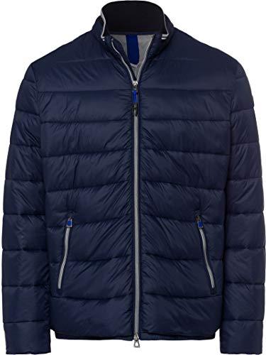 BRAX Herren Style Cole Outdoor Long Season M Fake Daune Jacke, Navy, X-Large (Herstellergröße: 54)
