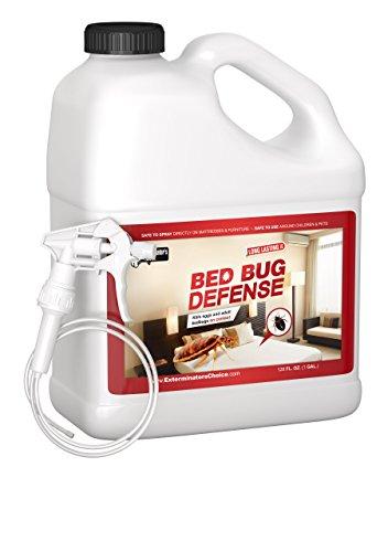 Exterminators Choice Bed Bug Defense All Natural Kills & Repels BedBugs, Insect Spray/Home Bed Bug Repellent & Killer/Spray for Bugs/Bug Repellent, 1 Gallon, 128 oz