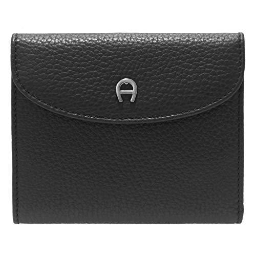 Aigner Portemonnaie klein, 152206 schwarz