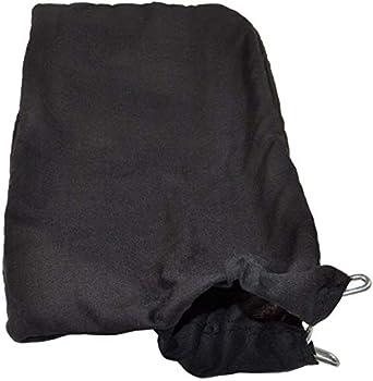 HQRP Dust Bag compatible with Hitachi C10FA C10FB C15FB C10FCB C10FCE C10FCE2 C10FCH C10FCH2 C10FS C10FSB C10FSH 10-inch Miter Saws