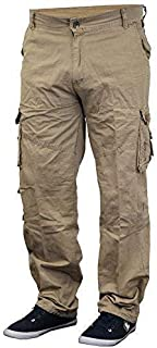 Mens Work Pants Camo Bottoms Combat Cargo Military Army Trousers New