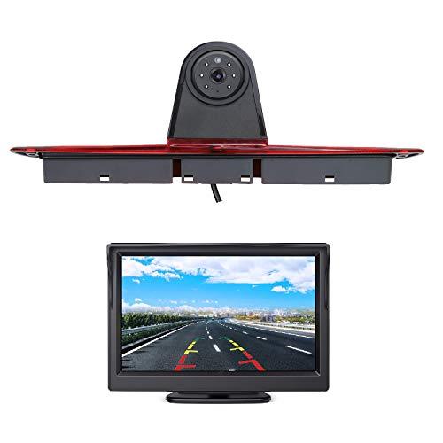 HD Dritte Bremsleuchte Rückfahrkamera Aftermarket Rückfahrkamera + 4,3 Zoll LCD Monitor Kits für Mercedes Benz Sprinter 1500 2500 W906 / VW Crafter Transporter