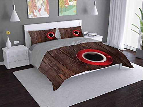 Toopeek Coffee Hotel - Juego de cama (2 camas)