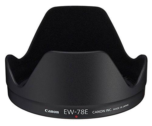 Canon EW-78E - Parasol para Objetivos Canon EF-S 15-85mm f/3.5-5.6 IS USM, Negro