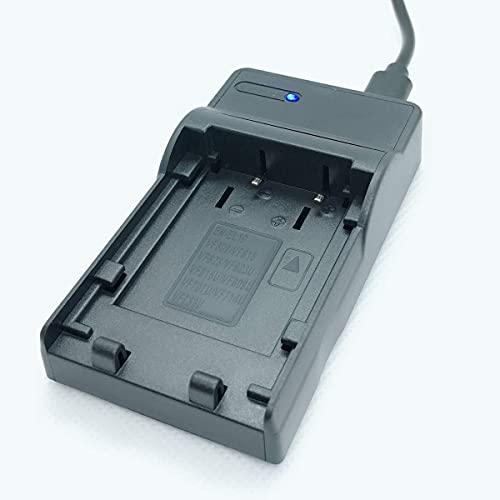 F-MINGNIAN-SPRING Smart Slim Micro USB Quick Travel Cameras Kit de Cargador de batería rápido Reemplazo Compatible con Nikon Coolpix S3100, S3200, S3300, S3400 Accesorios para cámaras Digitales