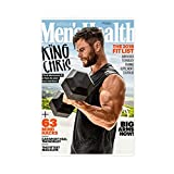 Chris Hemsworth Herren Gesundheit Wanddekoration Leinwand