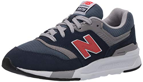 New Balance Kid's 997H V1 Sneaker, Natural Indigo/Neo Flame, 7 M US Big Kid