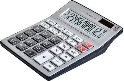 NEEL CT8800GC Financial Calculator (12 Digit)