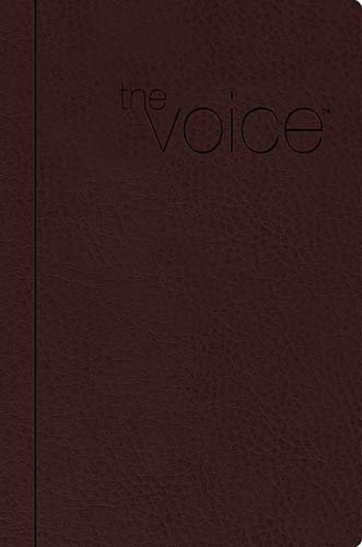 Compare Textbook Prices for The Voice Bible: Step into the Story of Scripture /Saddle Brown Leathersoft/Other Translations/Study Lea Edition ISBN 9781418549022 by Ecclesia Bible Society