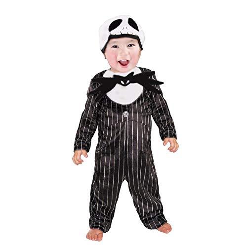 Disfraz de Esqueleto Jack Bebé Infantil Halloween (1-2 años) (+ Tallas)