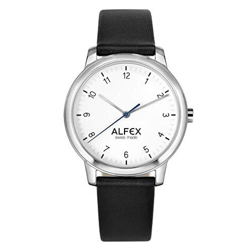 Orologio Alfex Chester - Orologio da polso uomo - Cinturino pelle nera -...