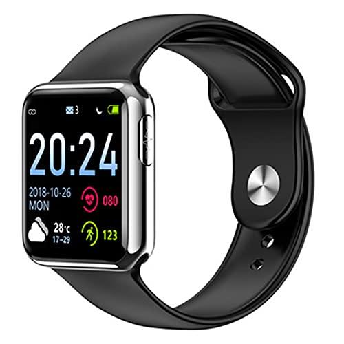 LKM V5 Smart Watch Men Fitness Tracker ECG Presión Arterial Monitor de Ritmo cardíaco Reloj Mujer Smartwatch para iOS Android,G