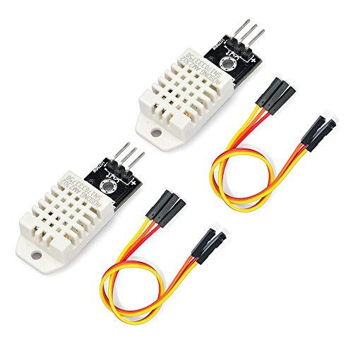 Gowoops 2 PCS DHT22 Temperature Humidity Sensor Module Digital Measurement for Arduino Raspberry Pi 2 3