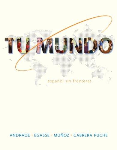 Tumundo with Connect Plus Code: Espanol in Fronteras