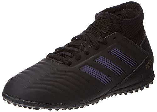adidas Predator 19.3 TF J, Zapatillas de Fútbol Unisex Niños, Multicolor (Core Black/Core Black/Gold Met. G25801), 33 EU