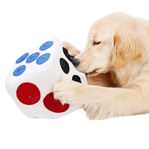 Boodtag Hund Intelligenzspielzeug Schnüffelteppich Würfel Hund Trainingsspielzeug Haustier Riechen Interaktives Spielzeug Kauspielzeug Leckere Matte Toy Nase Arbeit für Hund