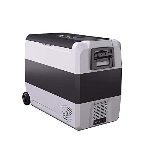 Z&LEI 60L Portátil Coche y Uso en el hogar Frigorífico de compresor con Ruedas y Mango, Mini congelador refrigerador de Coche DC 12V24V AC 220V,36L