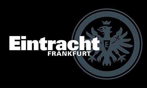 Flaggenfritze Zimmerflagge Eintracht Frankfurt - 90 x 140 cm, gratis Aufkleber