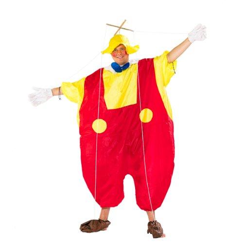 Unbekannt Sparmeile 24513 - Aufblasbares Kostüm Marionette, Fasching, Karneval