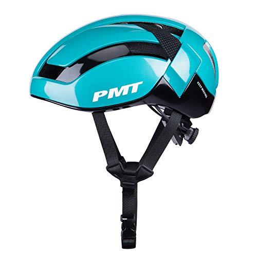 CXWXC Casco de bicicleta, resistente, transpirable, con botón ajustable, forro extraíble, para bicicleta de montaña, 58 – 61 cm, para hombres y mujeres, para patinaje de montaña, color verde