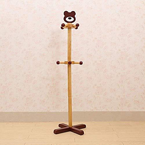 Haushaltsprodukte Garderobe Garderobe und Hutablage Kinder Gummi Holz Montageständer freistehend (Farbe: A)