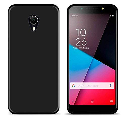 Tumundosmartphone Funda Gel TPU para VODAFONE Smart N9 Lite Color Negra