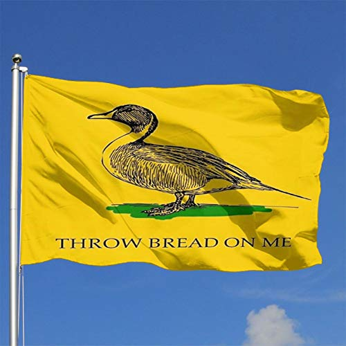 HZN Throw Bread on me 4X 6 Foot Flag American Us Outdoors Flag UV Fade Resistant