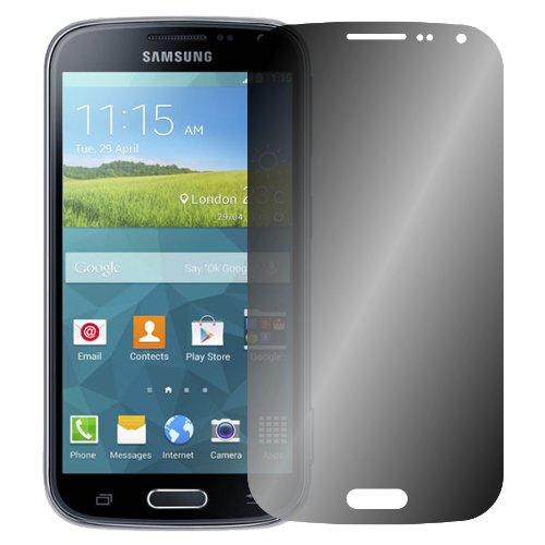 Slabo Blickschutzfolie für Samsung Galaxy K Zoom SM-C115 Sichtschutz Bildschirmschutzfolie View Protection Schwarz - Privacy Made IN Germany