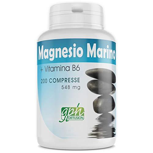 Magnesio Marino con Vitamine B6-548 mg - 200 compresse