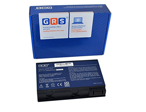 GRS Batteria Per Acer Aspire 5100 5610 3100 3690 5630 5650 5680 2490 4200 4230, Compatibile: BATBL50L6 BATCL50L6 BATBL50L8H BATBL50L4 BATBL50L6H BATBL50L8H BATBL50L8