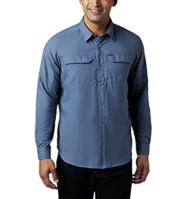 Columbia Men's Silver Ridge 2.0 Long Sleeve Shirt, Uv Sun Protection, Mountain, Large