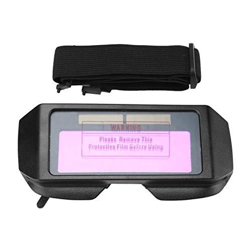 TIG MIG Goggles Mini Welder Eyes Gafas Solar Auto Oscurecimiento Soldadura Goggle Antirreflejo Sólido Industrial para soldadura de acero a gas con células solares