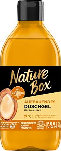 Nature Box Aufbauendes Duschgel mit Argan-Duft, 250 ml