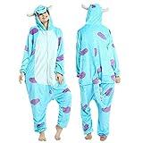 YQ&TL Pijamas cómodos Unisex para Hombres y Mujeres, Mono de Animal Suave para niños, Disfraz de Disfraces, Carnaval de Halloween C S