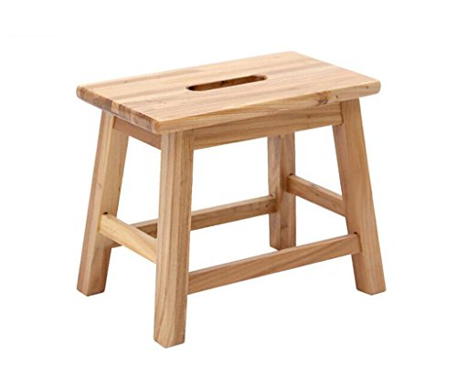 Tabouret en bois Tabouret en bois massif de tabouret, tabouret à la maison/tabouret simple moderne de chaussures/tabouret occasionnel