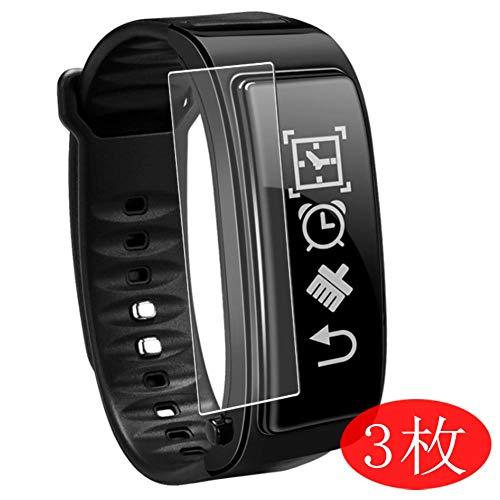 Vaxson 3 Stück Schutzfolie kompatibel mit Smartwatch smart Watch Y3 Plus, Displayschutzfolie Bildschirmschutz Blasenfreies TPU Folie [Nicht Panzerglas]