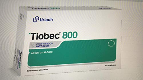 Uriach Medical Tiobec 800 20Comp 1 Unidad 250 g