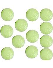 01 Bolas novedosas, Bolas Fluorescentes Que Brillan en la Oscuridad Bolas resplandecientes 12PCS para la Familia para los Socios comerciales para los Amantes