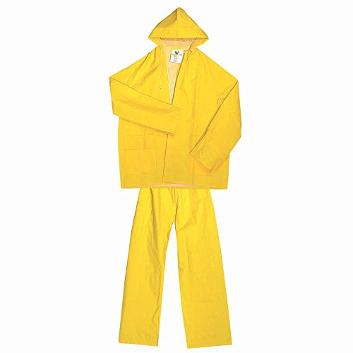 Ferko AR-132/G - Impermeable amarillo - Chaqueta y pantalón. PVC- Poliéster Talla: XL