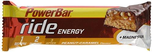 Powerbar 18 Barres Ride Goût Peanut-caramel