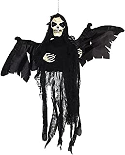Dazzling Toys Flying Ghost | Hanging Floating Skeleton Ghost | Halloween Decoration Shaking Ghost