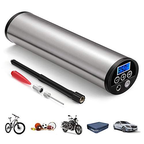 Xfc Auto-Luft-Kompressor, Mini Inflator Elektro 150PSI Auto-Luftverdichter mit LCD-Anzeige beweglichen Auto-Fahrradpumpe