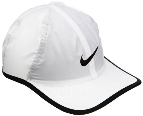 NIKE Cap Featherlight 2.0, White/Black/Anthracite, One size, 611811-100