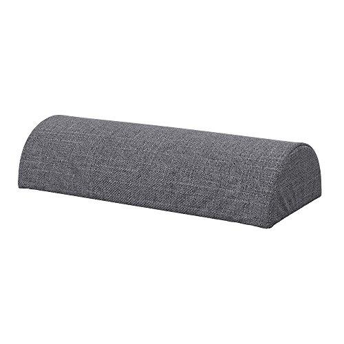 Soferia Bezug fur IKEA BEDDINGE Halbmond Kissenbezug, Stoff Naturel Grey