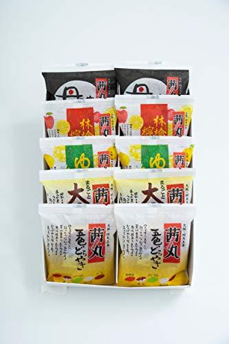 茜丸 おすすめどらやきセット 10個入りA 五色 大栗 黒豆 ゆず蜂蜜 林檎と蜂蜜 贈答用 熨斗 化粧箱
